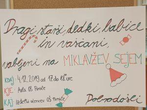 MIKLAVŽEV SEJEM, 4. 12. 2019